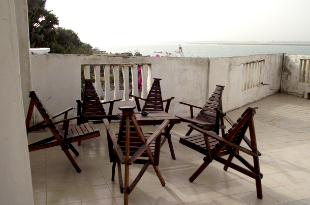 Terrasse - Doni Blon, Ségou, Mali