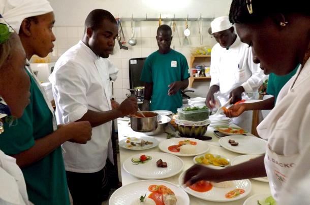 Restaurant - Doni Blon, Ségou, Mali